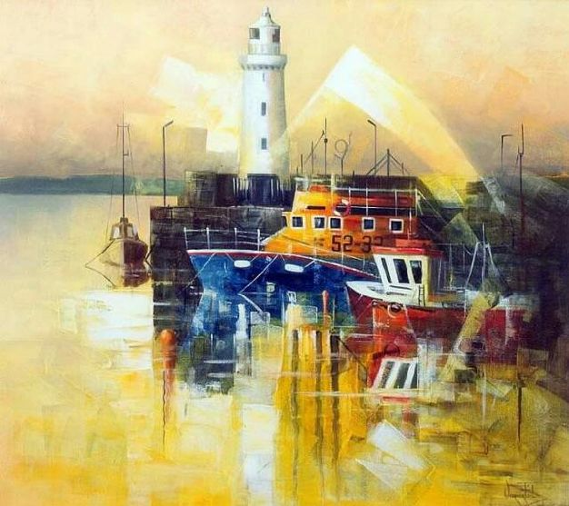 DONAGHADEE LIGHTHOUSE, No.3 SOLD.