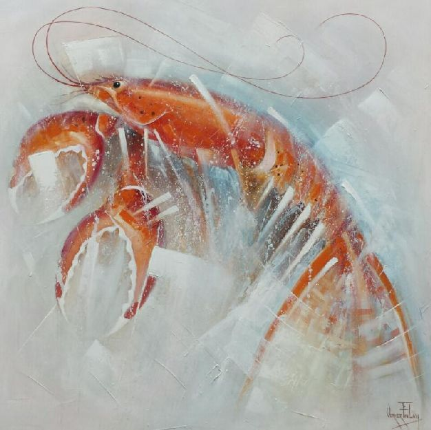 RISING LOBSTER. SOLD.