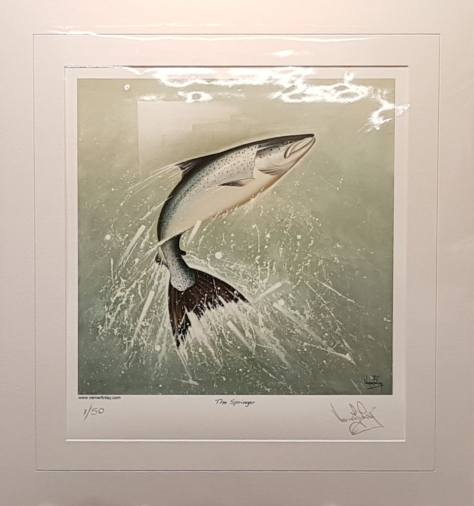 Verner Finlay The Springer Limited edition print